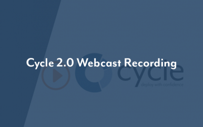 Cycle 2.0: What's New Webcast
